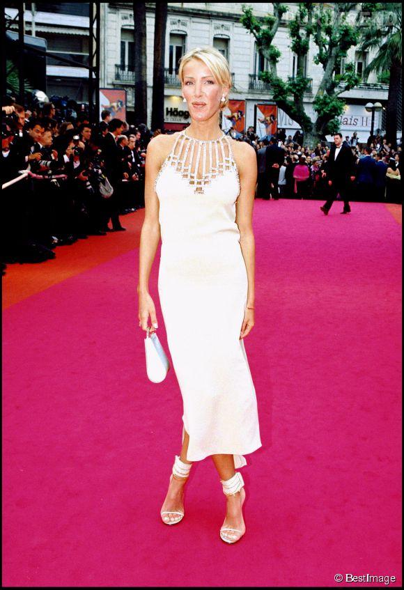 Ophélie Winter au Festival de Cannes en 2000.