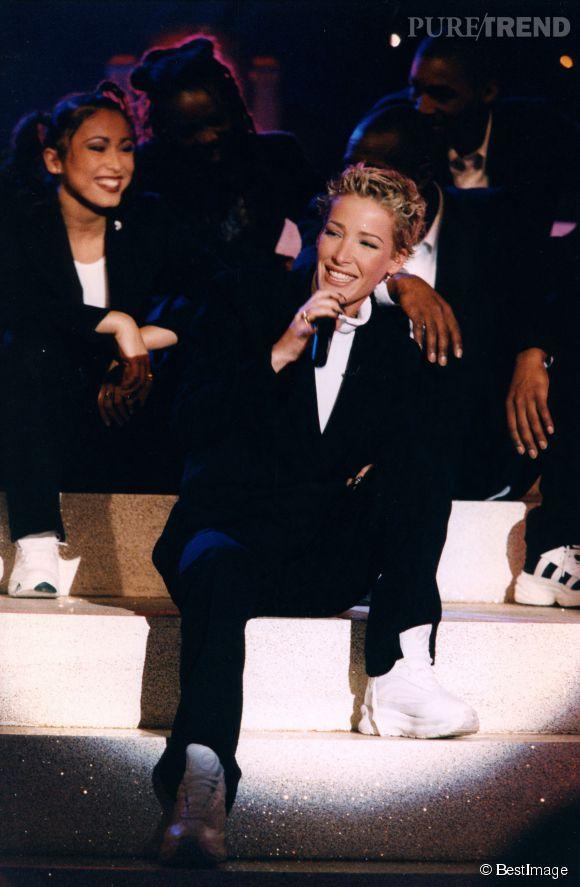 Ophélie Winter, époque R'n'B en 1996. L'année de la gloire pour la chanteuse de Dieu m'a donné la foi.