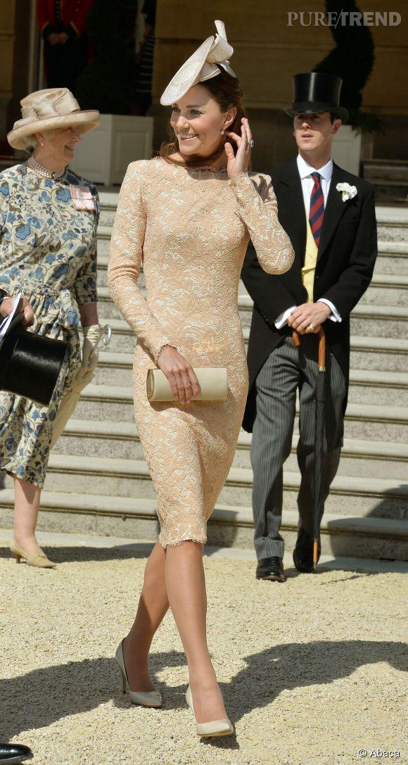 Kate Middleton, sublime en Alexander McQueen pour les 93 ans du mari de la reine.
