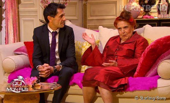 Quant à Élise mère de Thierry dans QVEMF 4 en 2014, sera t-elle satisfaite de l'image que renvoit son fils ?
