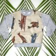Voici les créations d'Alexandra Rosenfeld pour sa ligne de vêtements enfants en vente sur son concept store en ligne, Chez Alex et Chantal.