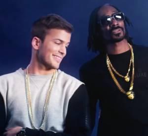 """""""A Força Está em Nós"""", en duo avec Snoop Dogg."""