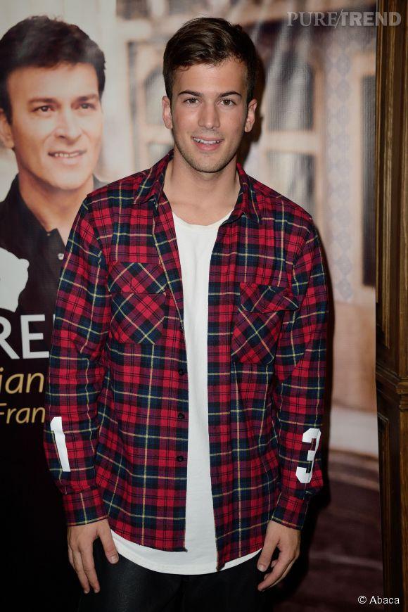 David Carreira au showcase de son père Tony Carreira en janvier 2014.