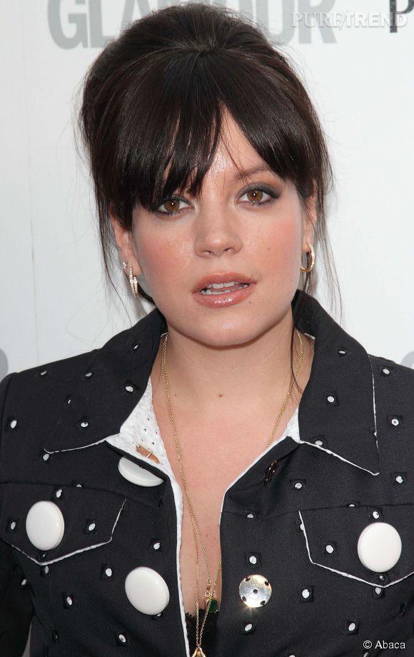 """Lily Allen, toujours plus franche affirme à Paris Match ne pas aimer """"faire la pute""""."""
