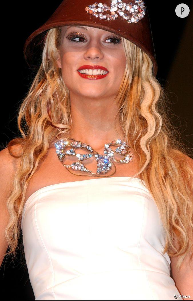 Elodie gossuin cheveux gauffr s et accessoires bling bling en 2002 - Miss france elodie gossuin ...
