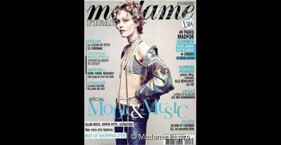 Vanessa Paradis à la Une du magazine Madame Figaro