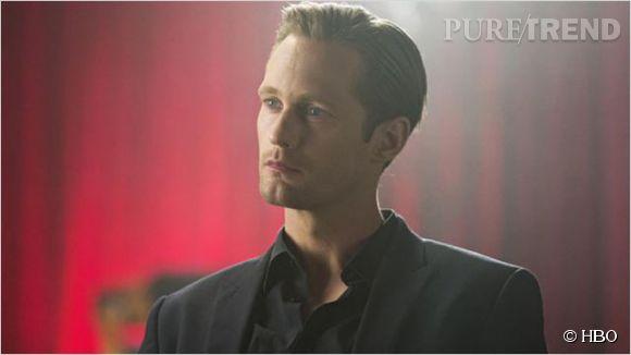"""""""True Blood"""", Alexander Skarsgard dans une scène de sexe."""