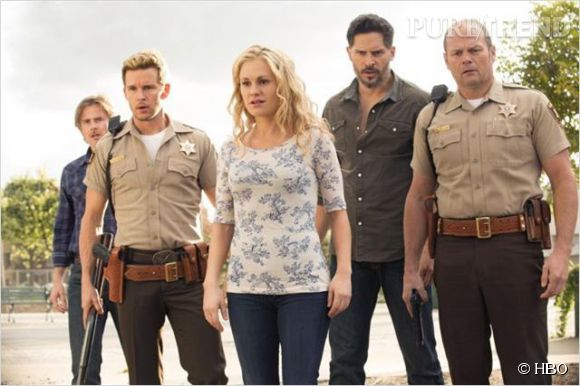 """""""True Blood"""", une série estivale qui signe sa toute dernière saison."""