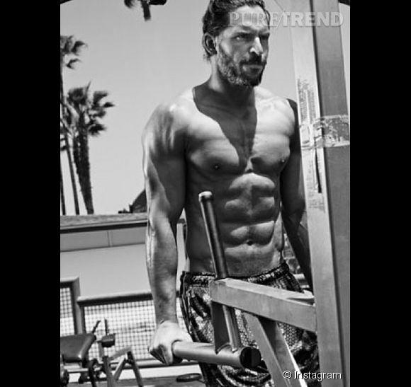 Joe Manganiello, un adepte de la musculation intensive.