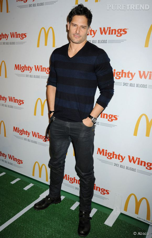 Joe Manganiello : exit la barbe en septembre 2013.