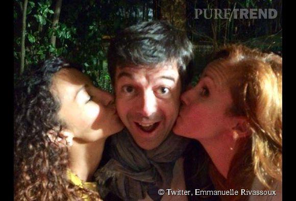 Stéphane Plaza et ses drôles de dames, Emmanuelle Rivassoux et Sophie Ferjani.