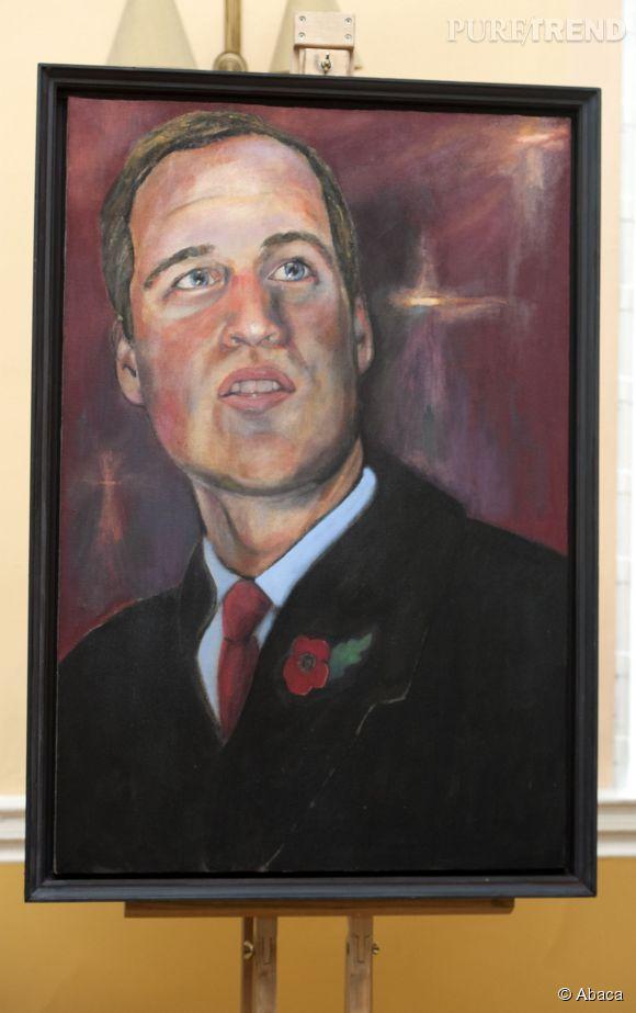 Le portrait du Prince William moqué par les anglais.