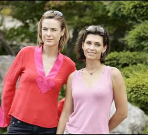 Bénédicte Delmas et Adeline Blondieau en 2005 pour le festival de la télé de Monte Carlo.