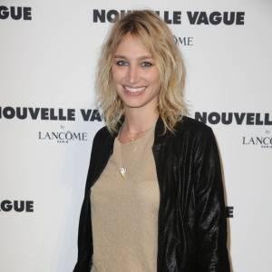 Pauline Lefèvre lors de la soirée Nouvelle vague by Lancôme le 9 juillet 2014 à Paris.