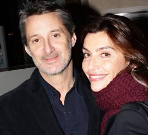 Antoine de Caunes et Daphné Roulier, un joli couple de télé.