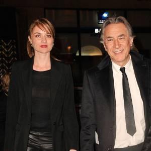 Richard Berry et Pascale Louange au Gala Enfance Majuscule en mars 2014.