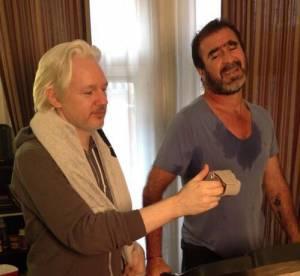 Eric Cantona et Julian Assange en pleine séance de sport sur Twitter