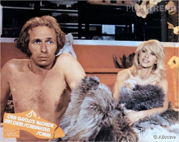 """Pierre Richard et Mireille Darc dans """"Le Grand Blond avec une chaussure noire""""."""