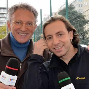 Pour Nelson Monfort, Philippe Candeloro et lui n'ont rien à se reprocher, ils sont simplement victimes de leur succès! Ben voyons...