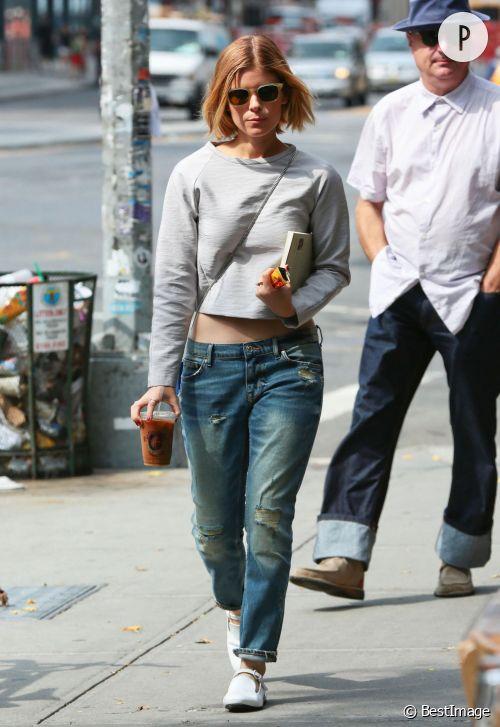 Kate Mara, loose et sexy, on copie !