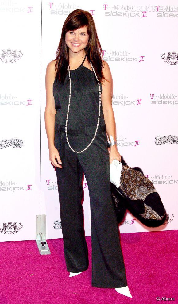 L'erreur de Tiffani Thiessen ? Les chaussures blanches aux bouts pointus. Mais en 2005, personne n'a jugé bon de le lui faire remarquer...