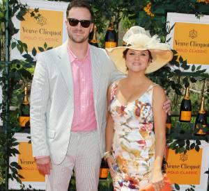 Tiffani Thiessen semble avoir piqué les rideaux de sa grand-mère lors de la 6ème édition annuelle du Veuve Clicquot Polo Classic en juin 2013.