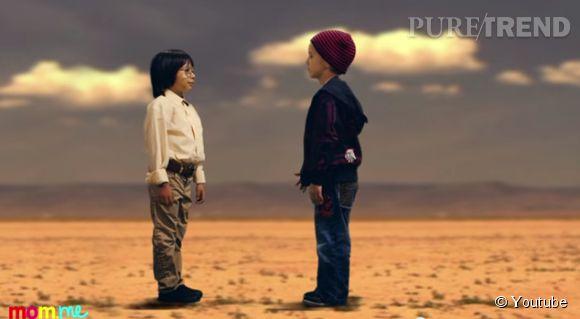 """Cette fois, c'est le duo de """"Breaking Bad"""" qui est revisité par les enfants..."""