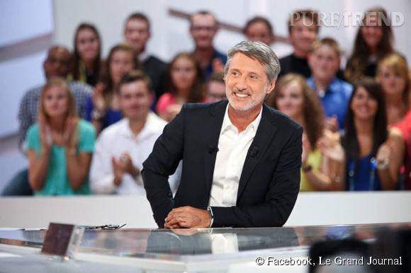 """""""Le Grand Journal"""" fait sa rentrée ce soir, à 19h05 sur Canal+, avec un Antoine de Caunes on l'espère un peu moins victime de son prompteur."""