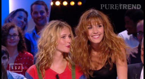 """Doria Tillier et Raphaëlle Dupire, deux Miss Météo pour le prix d'une lundi soir dans le """"Grand Journal"""" sur Canal+."""