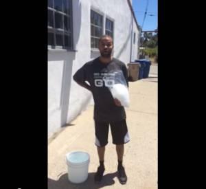 Le Ice Bucket Challenge de Tony Parker.