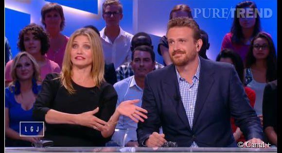 """Hormis ce couac, l'interview s'est déroulée dans une ambiance bon enfant sur le plateau du """"Grand Journal"""" de  Canal + ."""