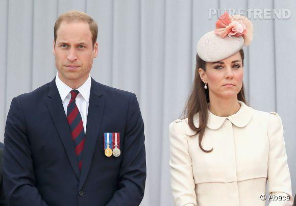 Entre Kate Middleton et le prince William, il y a de la tension dans l'air.