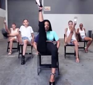 Nicki Minaj coache des mannequins.