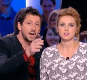"""Alison Wheeler et Monsieur Poulpe, un duo complice et déjanté qui fonctionne sur le plateau du """"Grand Journal"""" !"""