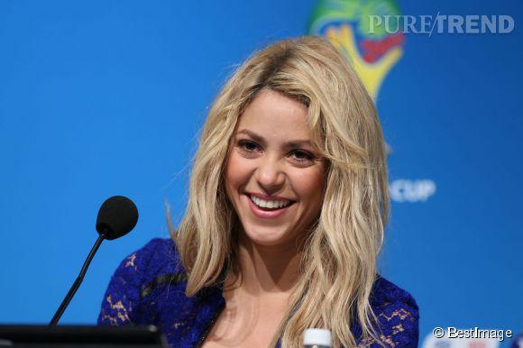 Shakira attendrait encore un petit garçon.