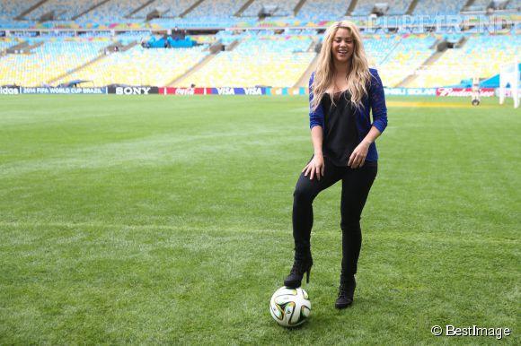 Shakira rêverait d'avoir huit ou neuf enfants pour se faire sa propre équipe de foot.