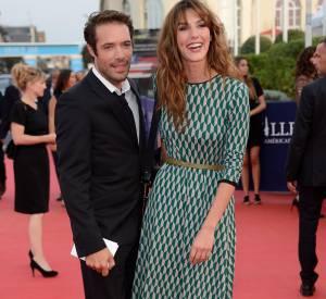 """Nicolas Bedos, complice avec Doria Tillier lors de la pojection de """"Sin City 2"""" dans le cadre du Festival du Film de Deauville."""