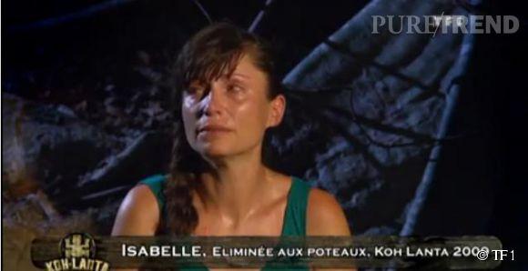 """Isabelle, éliminée de """"Koh-Lanta"""" suite à une trahison, s'est confiée à Télé Loisirs."""