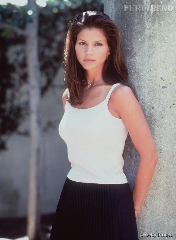 "Charisma Carpenter en 1997 dans ""Buffy contre les vampires""."