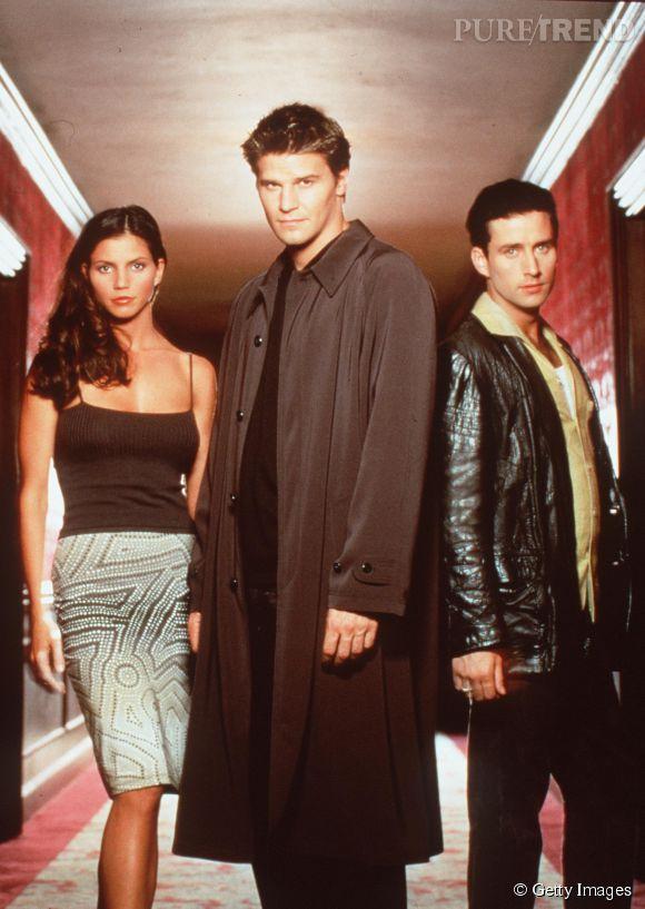 """Charisma Carpenter intègre en 1999 la série """"Angel""""."""