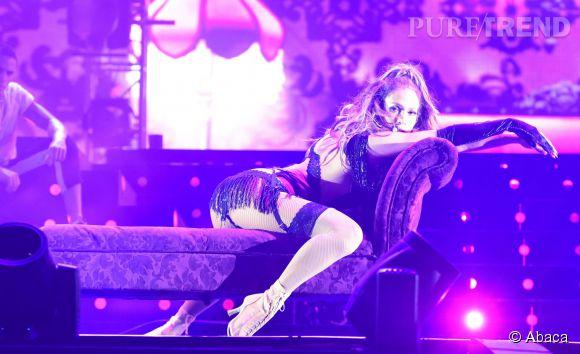 Jennifer Lopez méchamment sexy à Singapour.