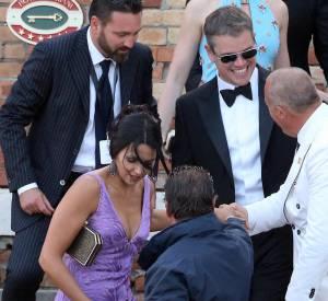 Si Ben Affleck était aux abonnés absents, son ami Matt Damon a lui fait le déplacement.