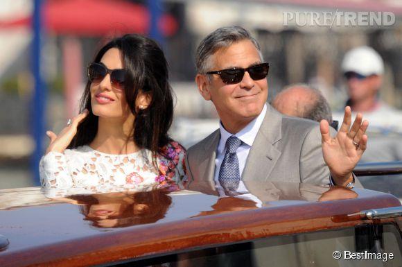 George Clooney et Amal Alamuddin : un mariage à 10 millions d'euros, rien que ça !
