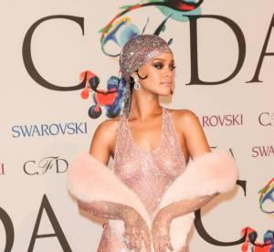 Rihanna, Joan Smalls, Shy'm : habillées mais à poil...