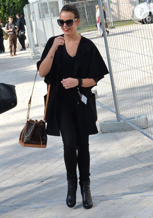 Pauline Ducruet canon en look totalement black. On adopte !