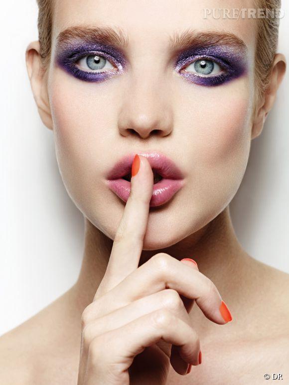 Natalia Vodianova a bien gardé le secret : ce 2 octobre 2014, Etam a lancé sa première ligne de maquillage !