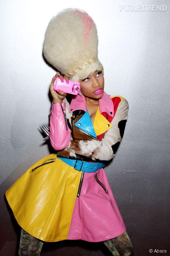 Nicki Minaj n'est pas vraiment du genre à donner dans la discrétion.