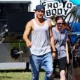 """Channing Tatum sur le tournage de """"Magic Mike XXL""""."""