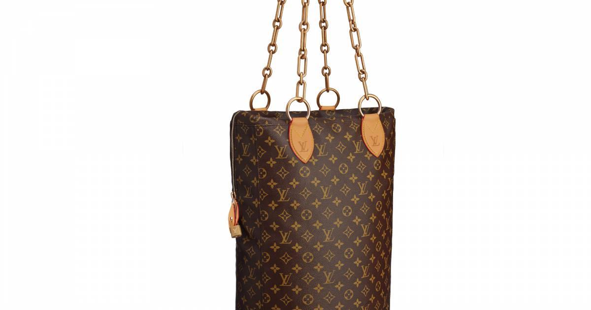 Le sac de frappe louis vuitton de karl lagerfeld for Sac de frappe maison