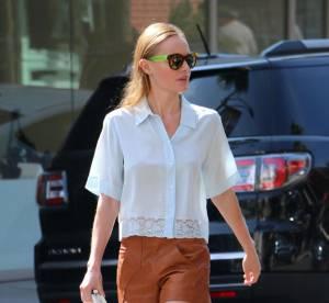 Kate Bosworth : les couleurs d'automne et jambe nue...un look à copier !